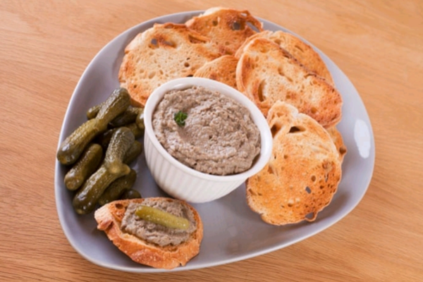 Homemade Chicken & Duck Orange Citrus Pate